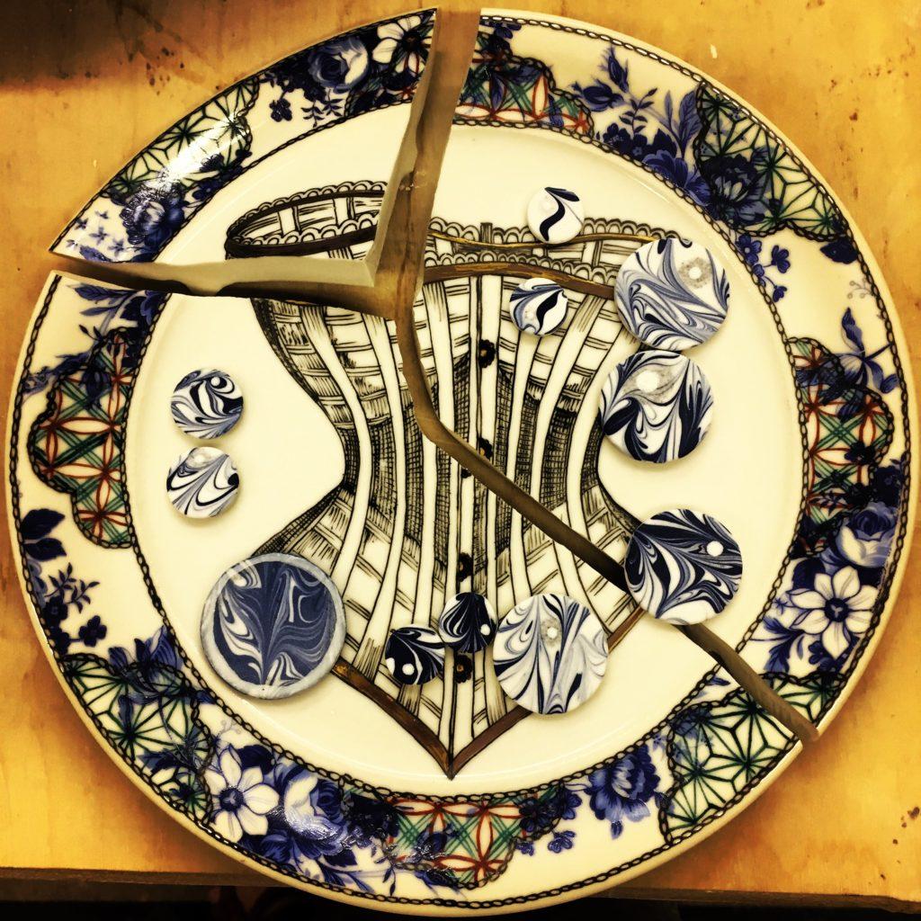 Kintsugi – Corset Plate (broken)