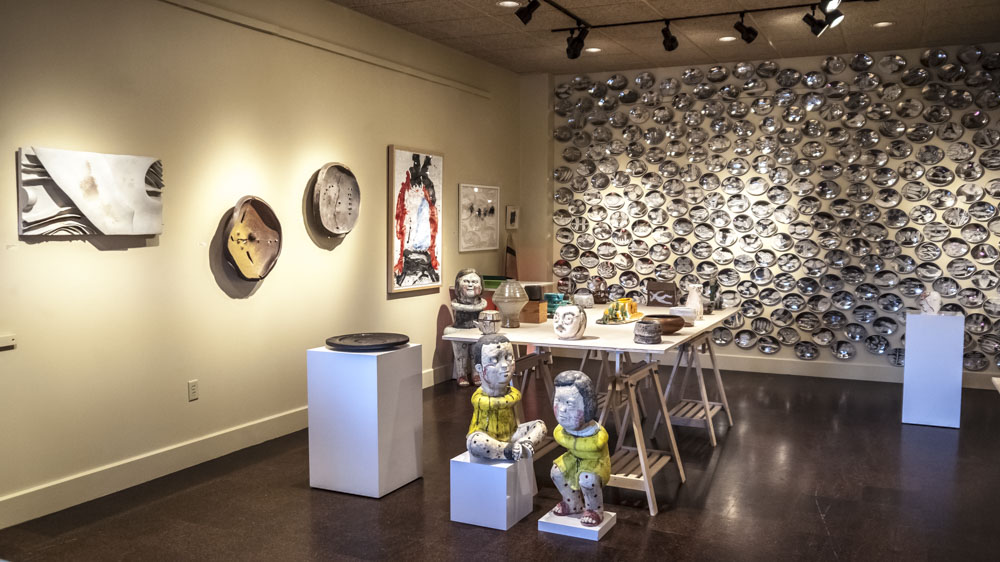 """NCECA 2018 Pittsburgh EXHIBITS: THE NEVICA PROJECT AND CERBERA GALLERY PRESENT """"10"""""""