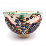 SHERMAN-Gold-Pattern-White-Blue-Flower-Bowl_08_01